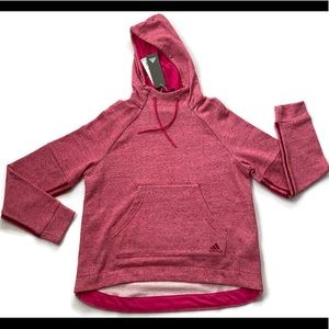 Adidas Sport 2 Sport Pullover Hoodie Pink NWT